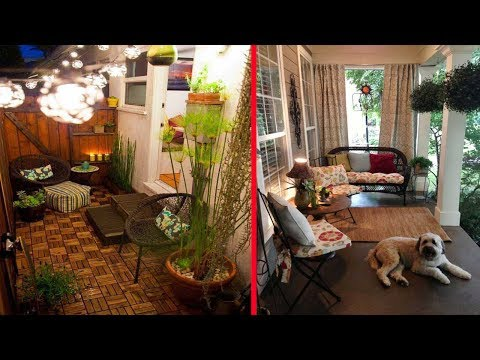 30 Awesome Small front porch decorating ideas   Spring & Summer Porch Decorating Ideas 2017