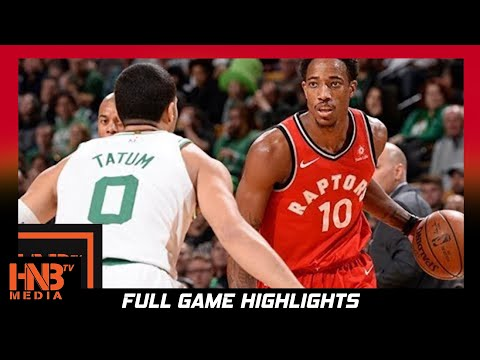 Thumbnail: Boston Celtics vs Toronto Raptors Full Game Highlights / Week 4 / 2017 NBA Season