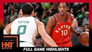 Boston Celtics vs Toronto Raptors Full Game Highlights / Week 4 / 2017 NBA Season