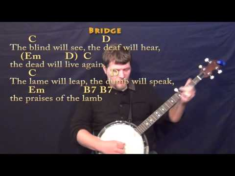 Mary Did You Know (CHRISTMAS) Banjo Cover Lesson in Em with Chords ...