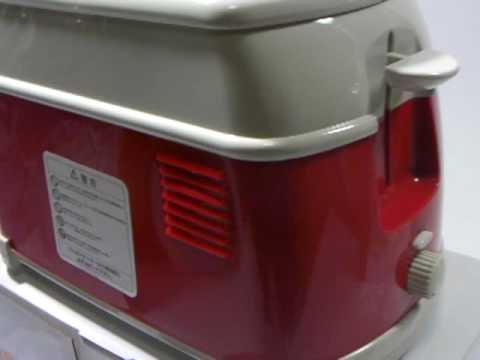 volkswagen toaster red limited japan youtube. Black Bedroom Furniture Sets. Home Design Ideas