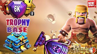 TH12 BEST TROPHY FARMING BASE 2019 WITH REPLAYS | TH12 BEST TROPHY PUSH BASE FOR LEGEND