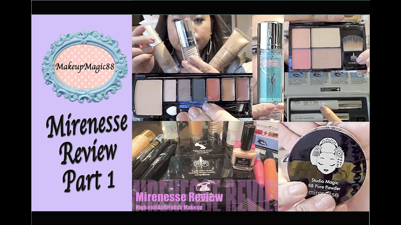1f33961761a Mirenesse Makeup Review ♥ Foundations, Mascaras, Skincare and face palettes