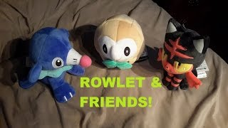 GHOST TYPE?! - Rowlet and Friends!