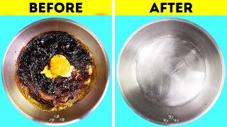 21 AMAZING CLEANING HACKS FROM YOUR KITCHEN