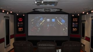 Diy Star Trek Home Theater Construction