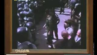 Lviv Ukraine WWII Victory Day May 9 2011 Nationalists.mp4