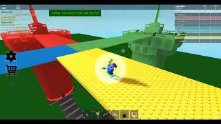 Red vs Blue vs Green vs Yellow- Trolling with admin! - ROBLOX gameplay