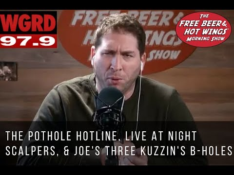 The Pothole Hotline, Live at Night Resale Scalpers, and Joe's 3 Kuzzin's B-Holes - FBHW Segment 16