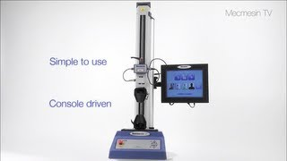 MultiTest-xt Touch-screen Force Tester - Product Overview (In-depth) - Mecmesin Force Measurement