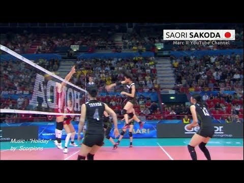 The Other SAORI - Japan's 迫田さおり SAKODA Saori - Best Back row Attacks