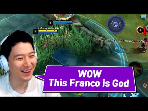 This guy can play Franco well? | Mobile Legends