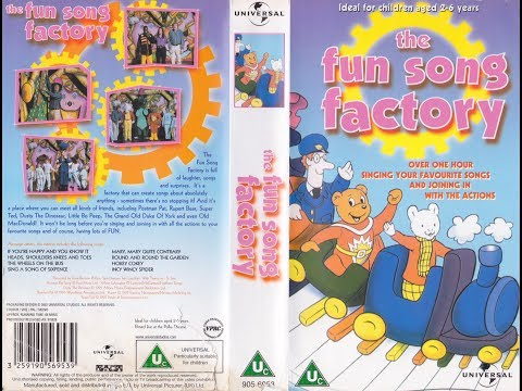 The Fun Song Factory (2002 Reissue UK VHS) - YouTube