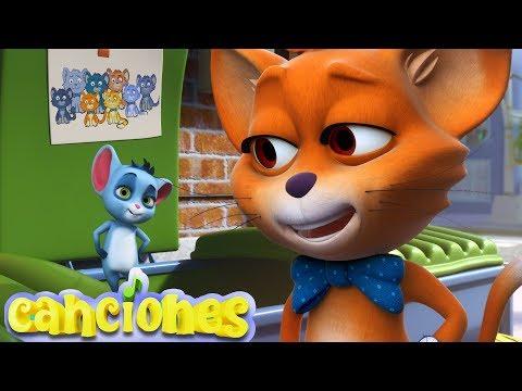 LooLoo – Un gato en un callejn – Canciones Infantiles | LooLoo – Cantece pentru copii in limba spaniola