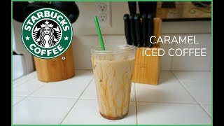 Caramel Iced Coffee Recipe!
