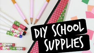 DIY FOOD SCHOOL SUPPLIES for Back to School 2017 (Part 1) | Easy & Cute