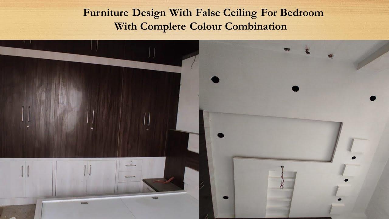 Download Furniture Design For Bedroom , Wardrop , Bed  Modern false ceiling designs POP FalseCeiling Interior