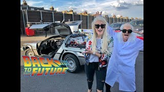 ORIGINAL CAR FROM BACK TO THE FUTURE MOVIE!!!