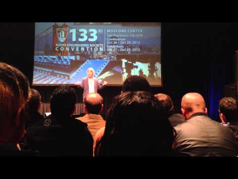 Steve Lillywhite - 2012 Keynote Address - 133rd AES Convention