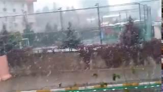 Diyarbakır'da yoğun kar yağışı 30:11:2016 Çarşamba