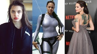 Angelina Jolie Transformation 2018 | From 1 To 42 Years Old