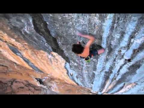 BD athlete Adam Ondra onsights Mind Control 8c+, Oliana, Spain