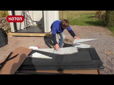 Keter Shed - Assembling the Keter 8x10 Shed
