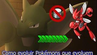 Como evoluir Pokémon que Evolui por Troca Normalmente!