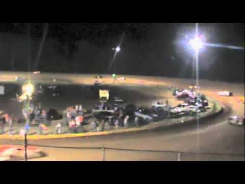 Late Model Race Dublin Motor Speedway 06-18-11