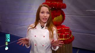 Как сделать шоу торт?