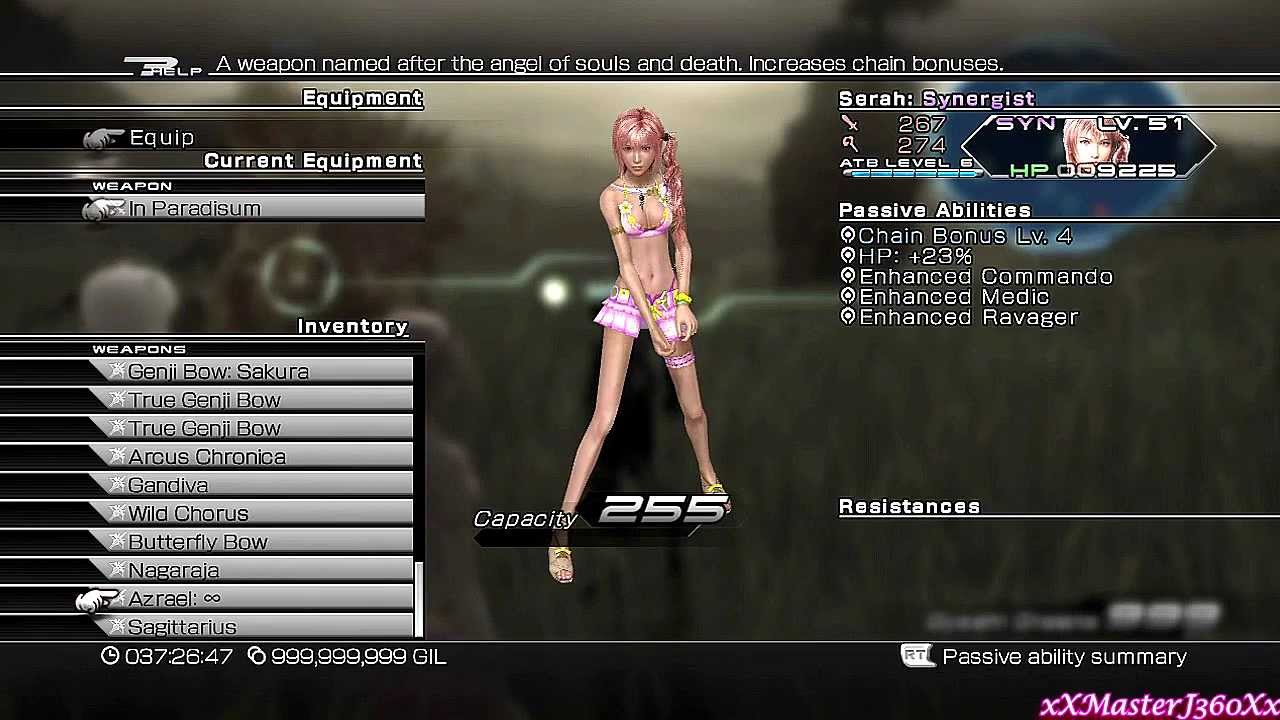 Final Fantasy XIII-2: Serah & Noel Weapon Swap Mod by xXMasterJ360Xx