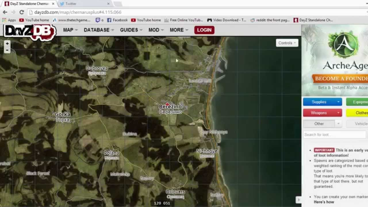 DayZ - How to get from Berezino to North West Airfield the Fastest ...