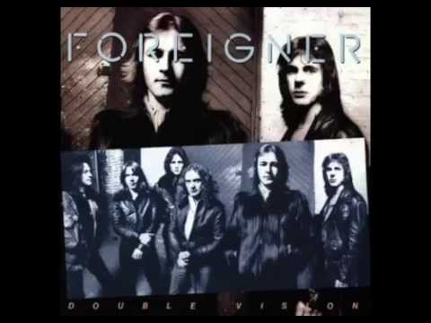 Hot Blooded Foreigner Double Vision album (1978) vinyl