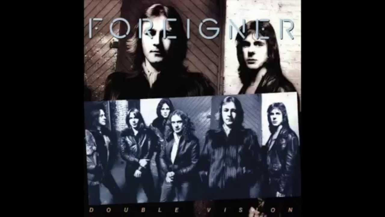 Hot Blooded Foreigner Double Vision Album 1978 Vinyl
