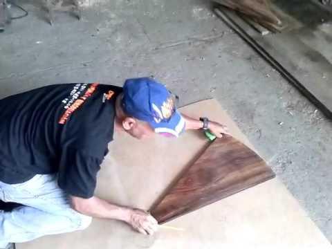 Fabricaci n de una escalera de caracol 1ra parte youtube for Partes de una escalera