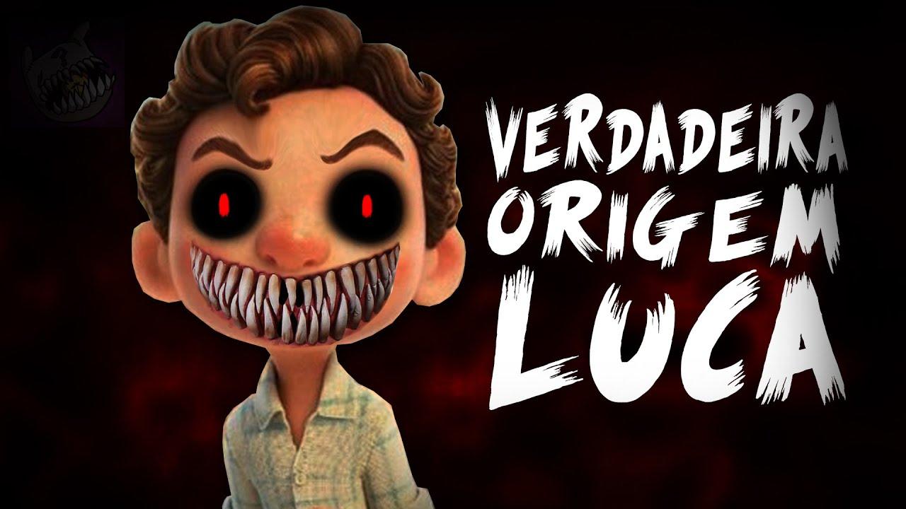 A VERDADEIRA ORIGEM DE LUCA [Creepypasta Luca]