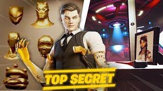 MIDAS ATTAQUE LES AUTRES SKINS ! SALLE SECRET ET EVENEMENT DOOMSDAY ! (FORTNITE SECRET SAISON 2)