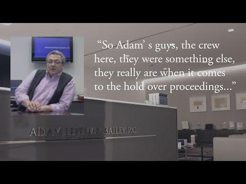 Adam Leitman Bailey, P.C. Client Testimonial, Part 1