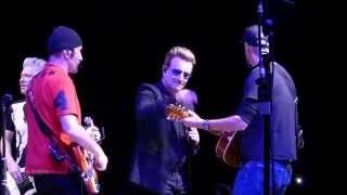 U2 Angel Of Harlem, Antwerpen 2015-10-14 - U2gigs.com