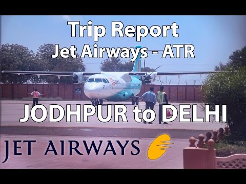 Trip Report : Jet Airways | Jodhpur to Delhi | 9W2552 | ATR72-600 | Economy | JDH-DEL