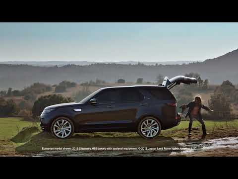2019 Land Rover Discovery | Powered Tailgate | Land Rover USA