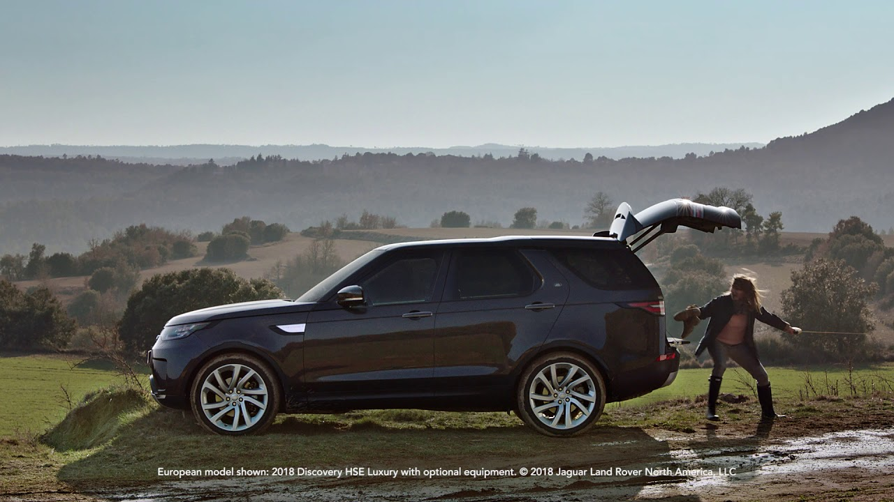 2019 land rover discovery powered tailgate land rover usa youtube