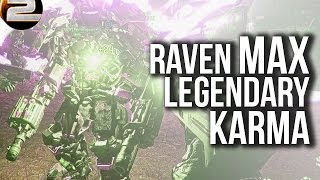 Legendary Karma: The Raven Max | Planetside 2 Gameplay and commentary
