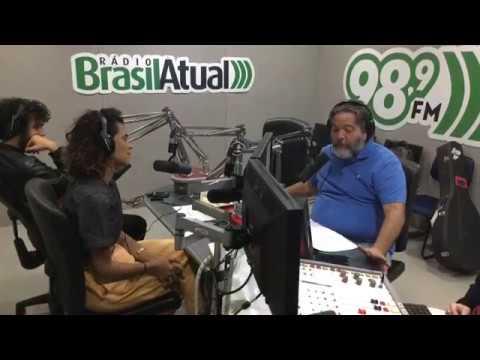 Héloa no Programa Hora do Rango - Rádio Brasil Atual. - (98,9 FM São Paulo)