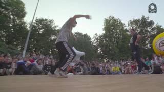 Finał Hip Hop Dance na Dźwiękzłam 2016: Nati Vs Piotr P