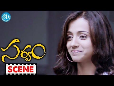 Aarya, Trisha Best Love Scene - Sarvam Movie