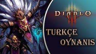 Diablo 3 : Türkçe Oynanış / Bölüm 1 - RÜSTEM ABİNİN GÜCÜ!