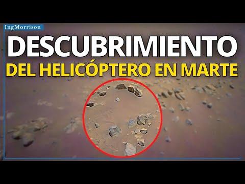 Download HELICÓPTERO INGENUITY EN MARTE realiza ASOMBROSO DESCUBRIMIENTO en el PLANETA MARTE