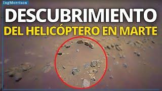 HELICÓPTERO INGENUITY EN MARTE realiza ASOMBROSO DESCUBRIMIENTO en el PLANETA MARTE