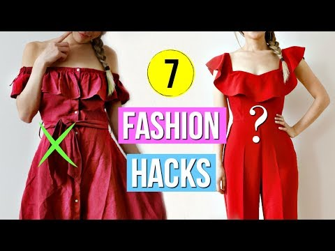 How to SLAY and Look GOOD on a Budget! 7 Fashion Hacks!